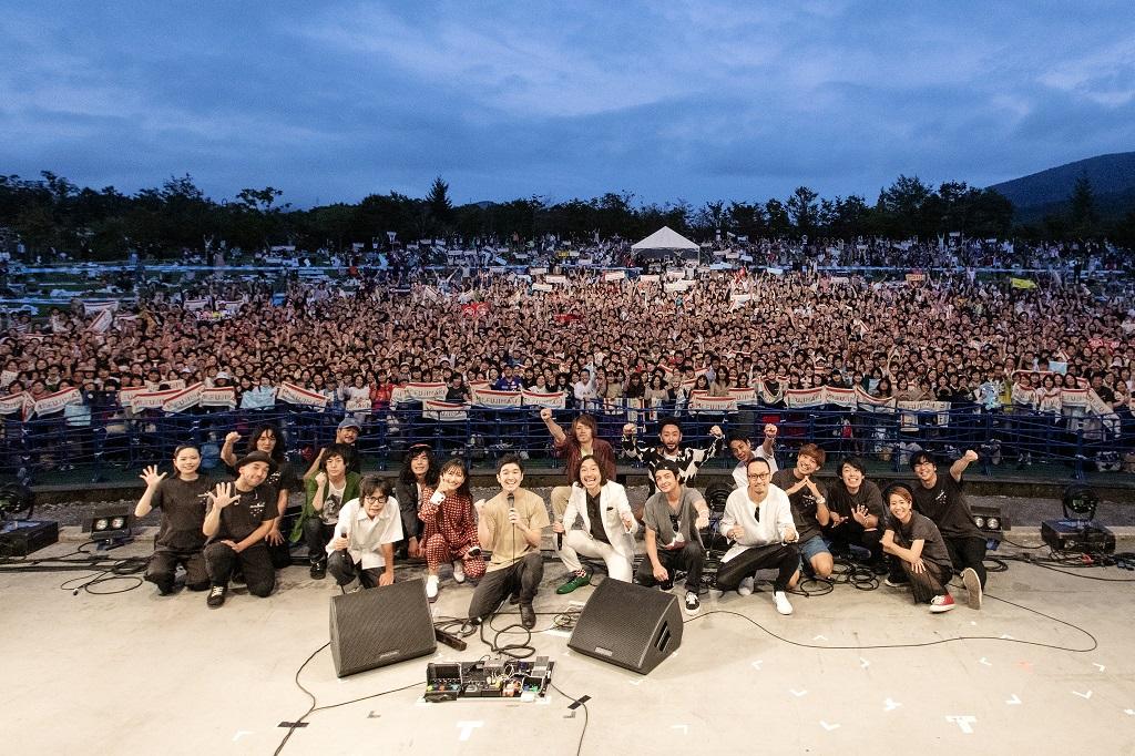 【ライブレポート】藤巻亮太主催の野外音楽フェス「Mt.FUJIMAKI 2019」大盛況!
